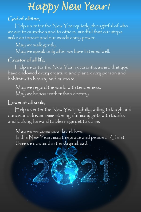 Peaceful Blessings for the New Year