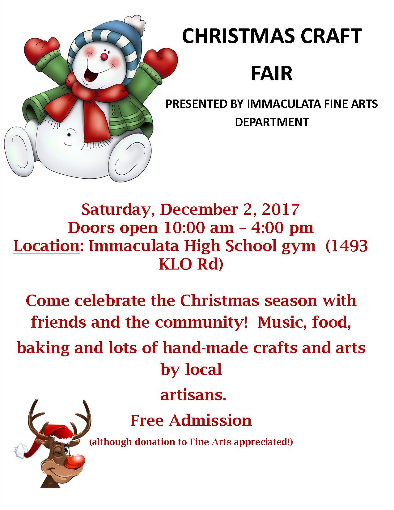 COUNTDOWN TO OUR CHRISTMAS CRAFT FAIR!!