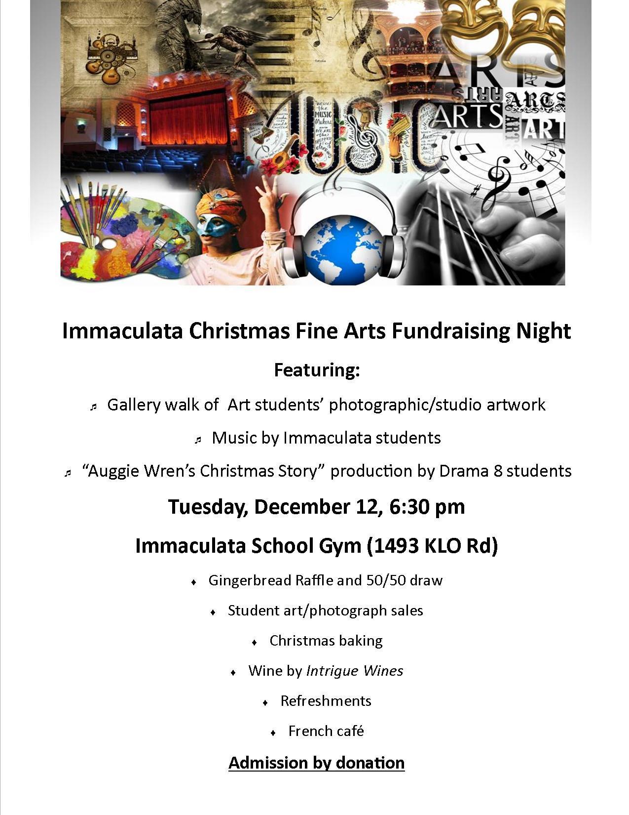 Fine Arts Christmas Celebration