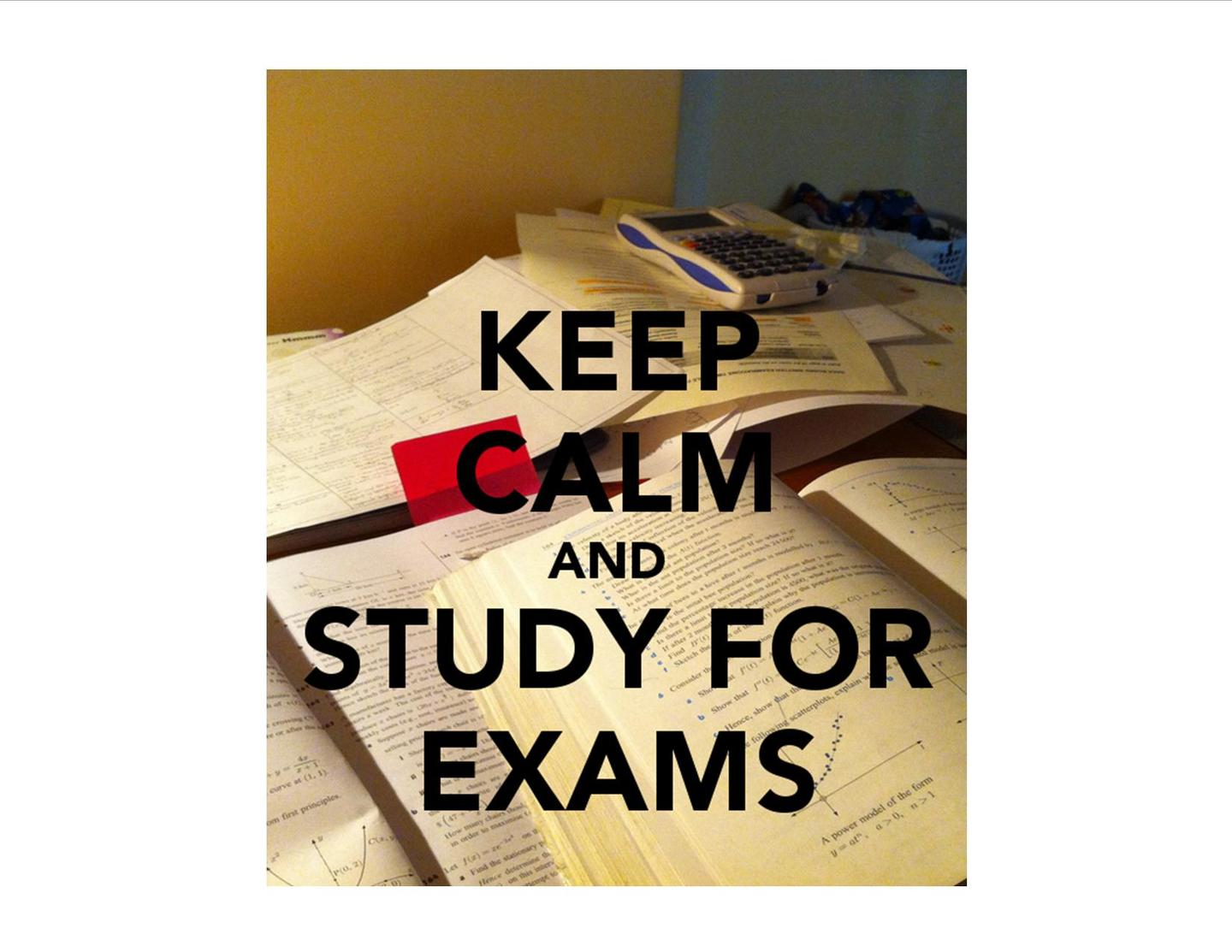 Midterms and Final Exams - January 21 - 24, 2019