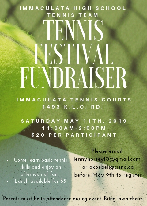 1 day until the Tennis Festival !
