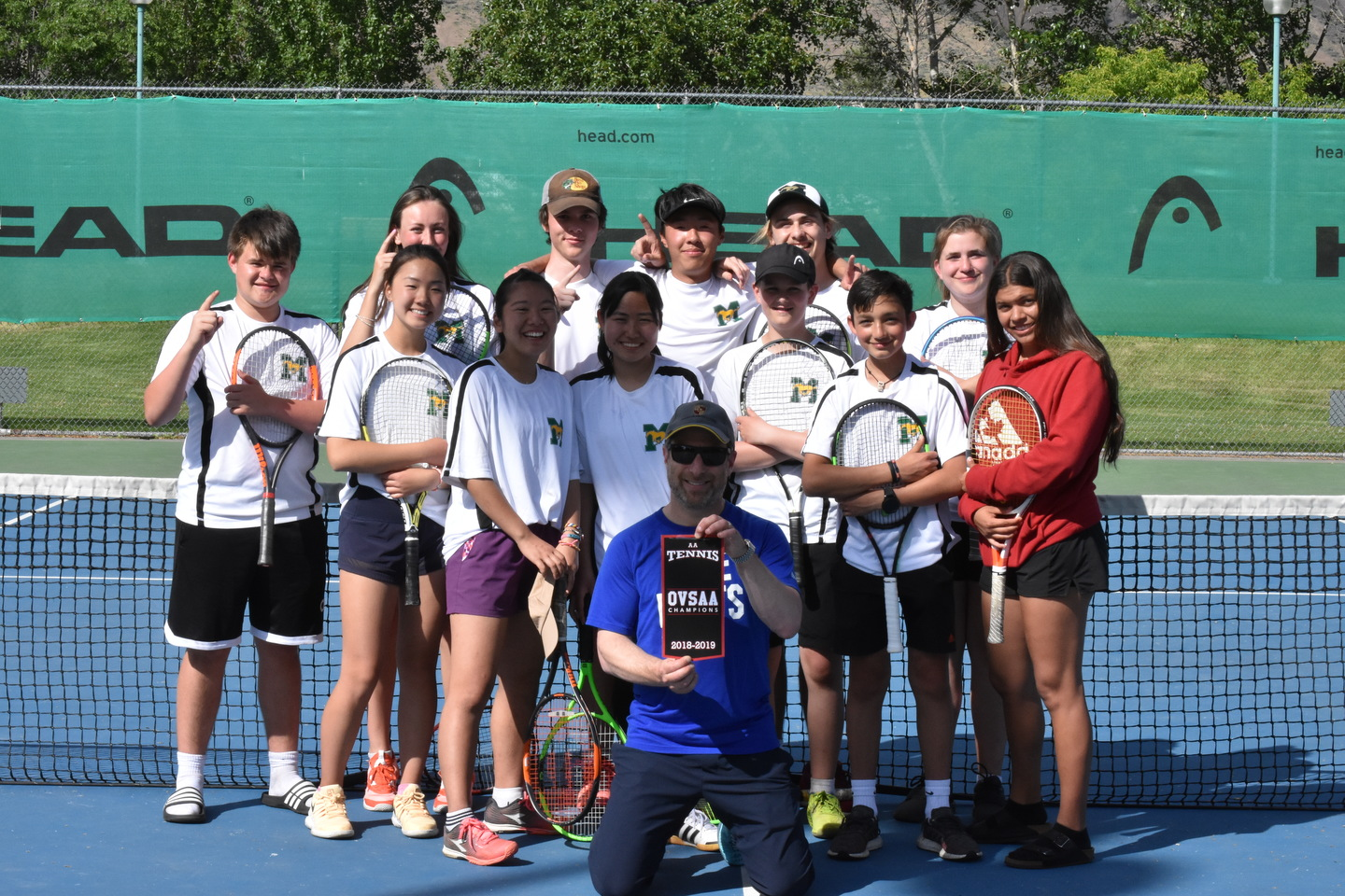 CONGRATULATIONS!  TENNIS TEAM - VALLEY CHAMPS!