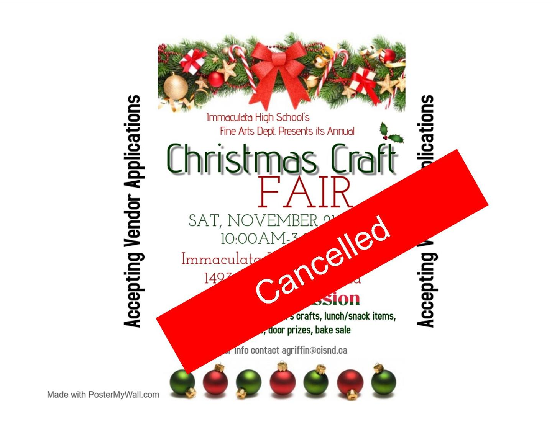 Christmas Craft Fair 2020