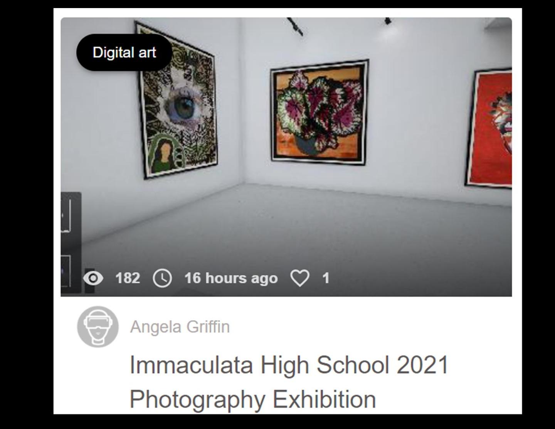 Virtual Gallery - Grade 8 & 9 Photography
