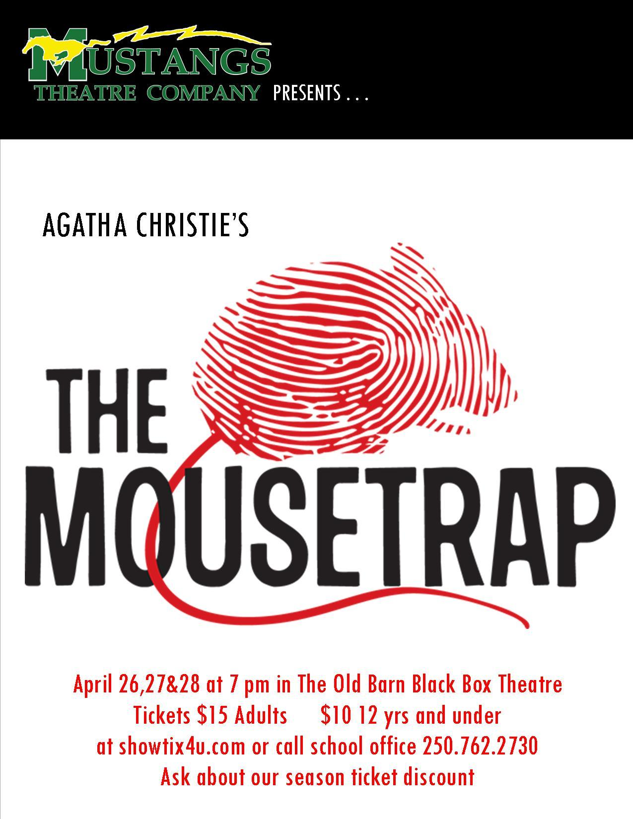 MUSTANGS THEATRE COMPANY PRESENTS . . . . . . . . .