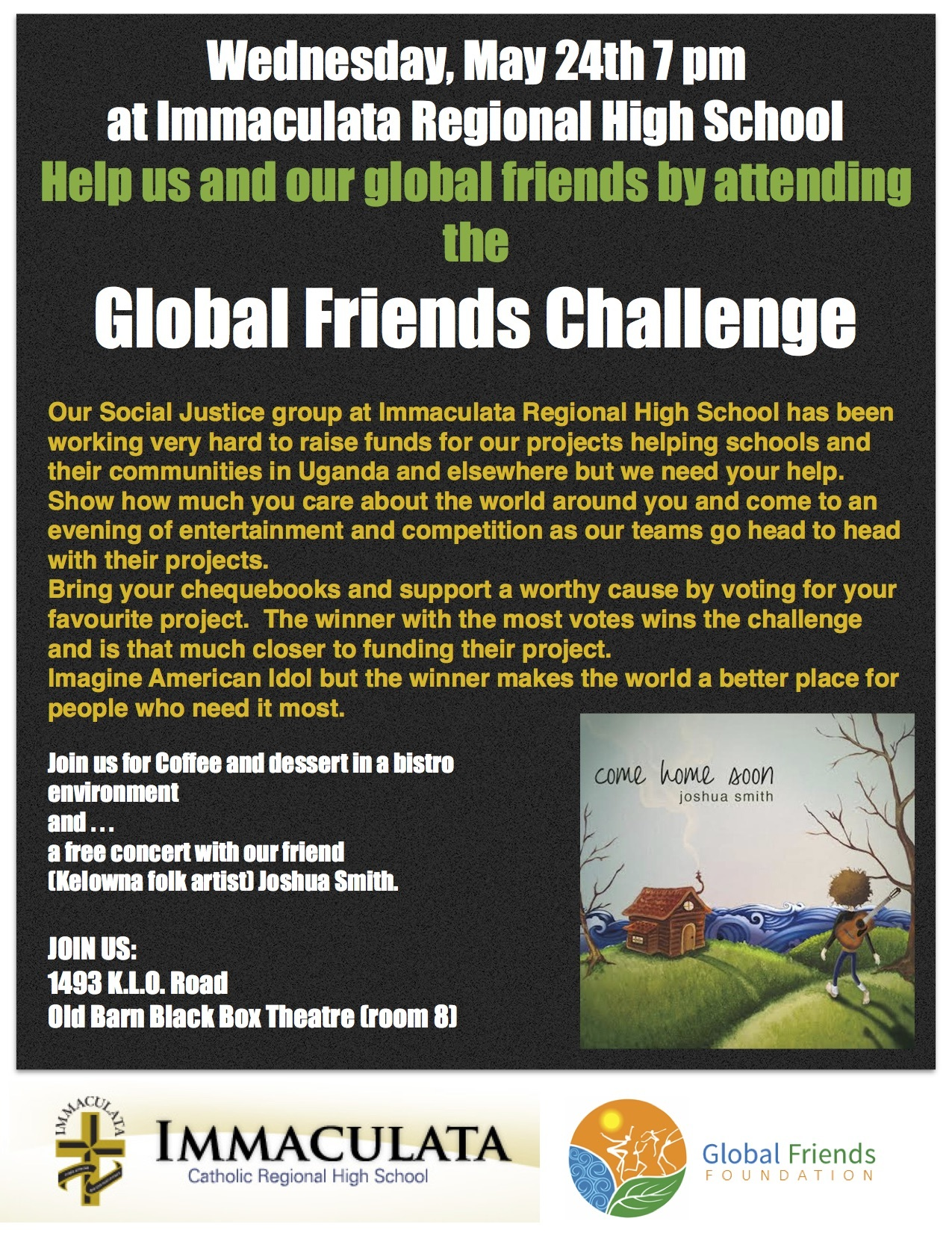 GLOBAL FRIENDS CHALLENGE
