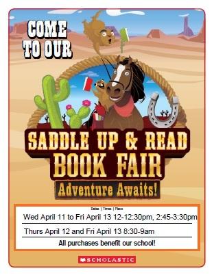 Book Fair Next Week!