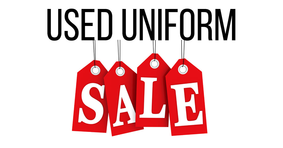 Annual Used Uniform Sale