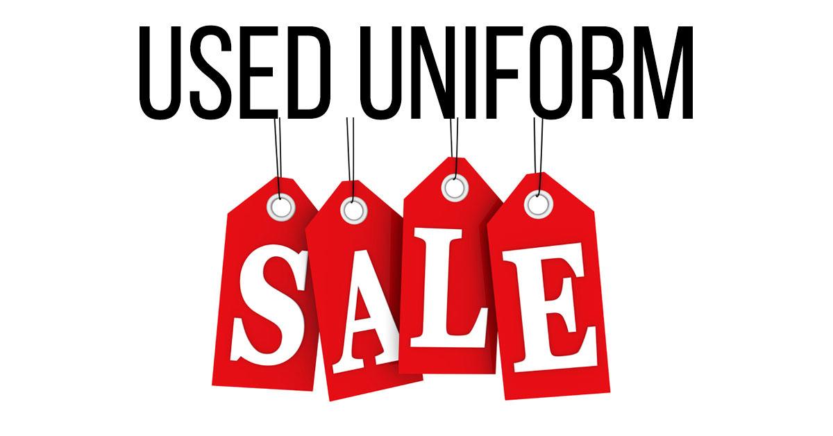 Annual Used Uniform Sale