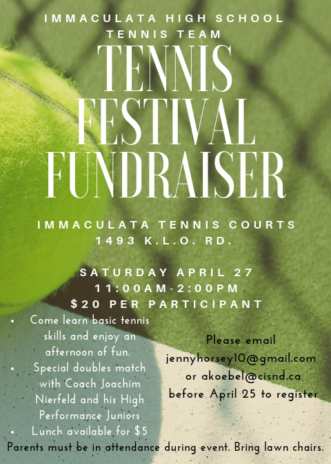 Immaculata Tennis Festival