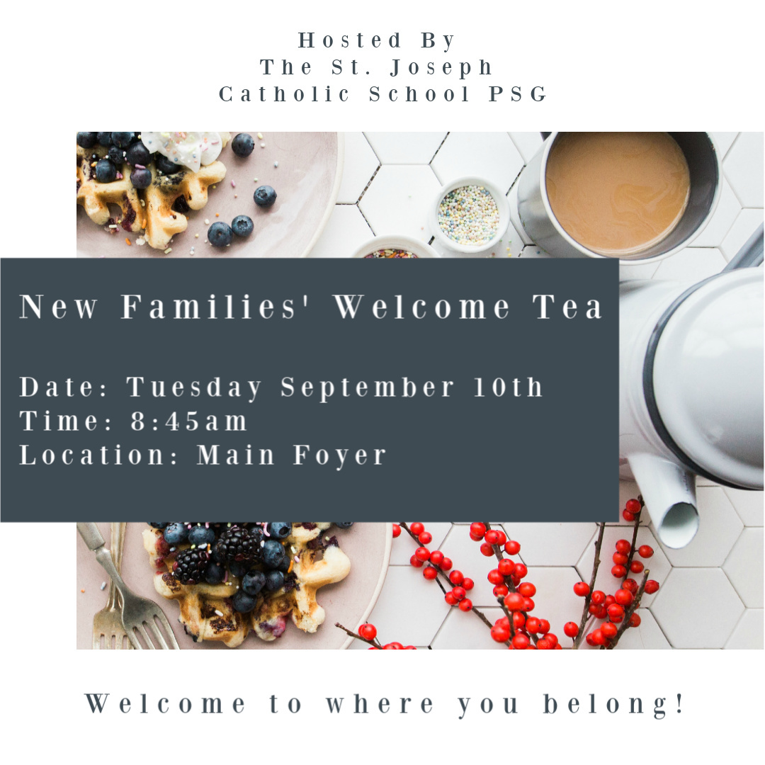 New Families' Tea