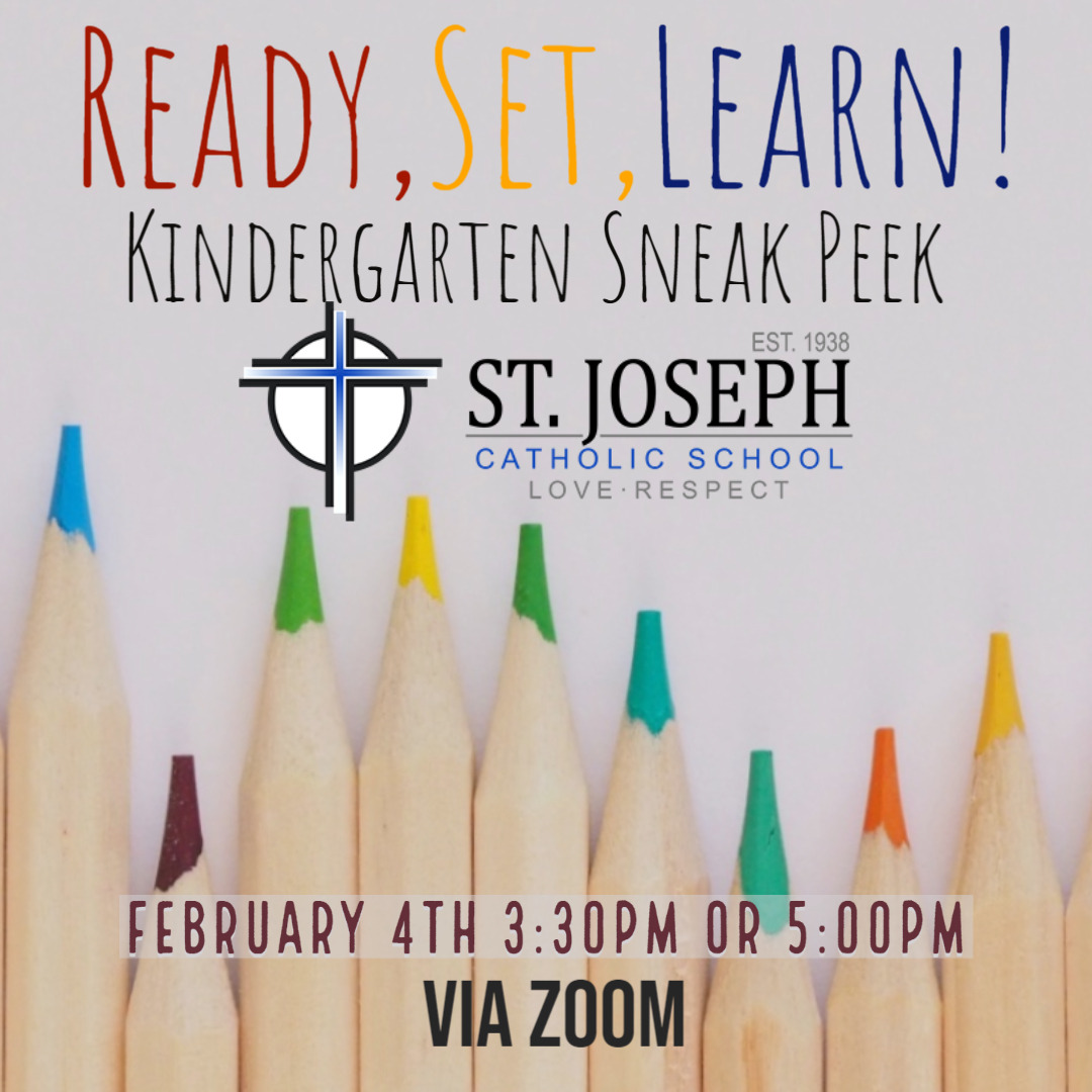 Ready, Set, Learn! Kindergarten Sneak Peek