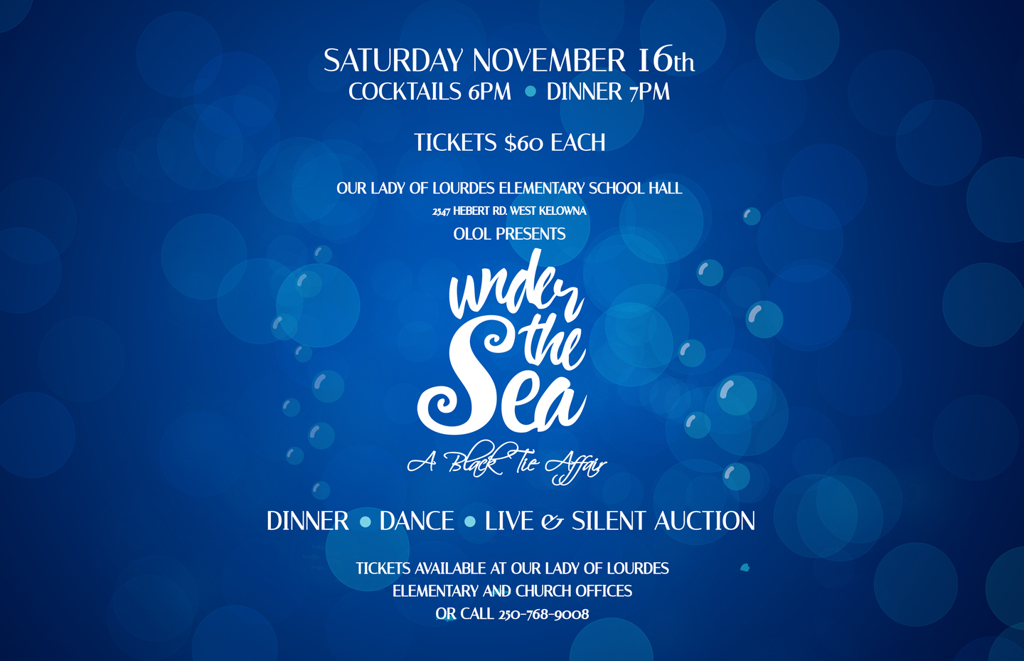 Under the Sea- The Annual Black Tie Gala and Fundraiser