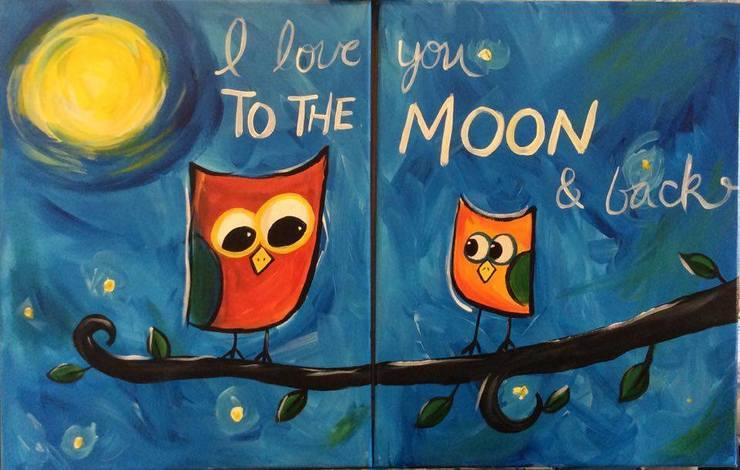 Parent & Child Paint Night