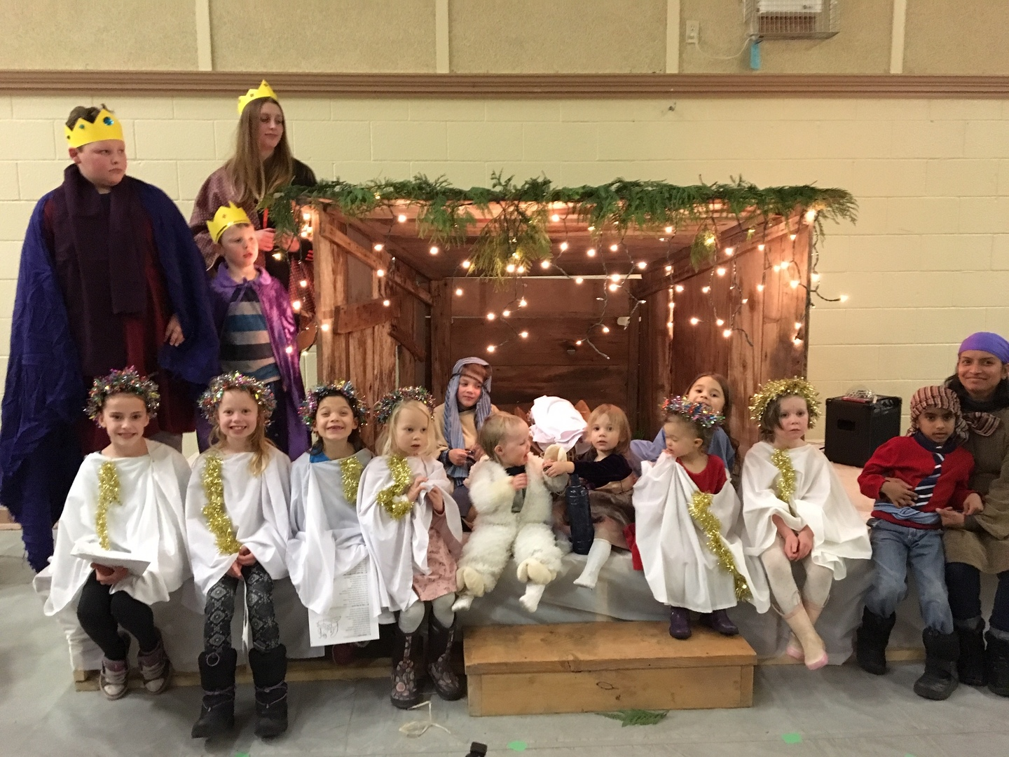 December 16: Annual Christmas Pageant & Potluck