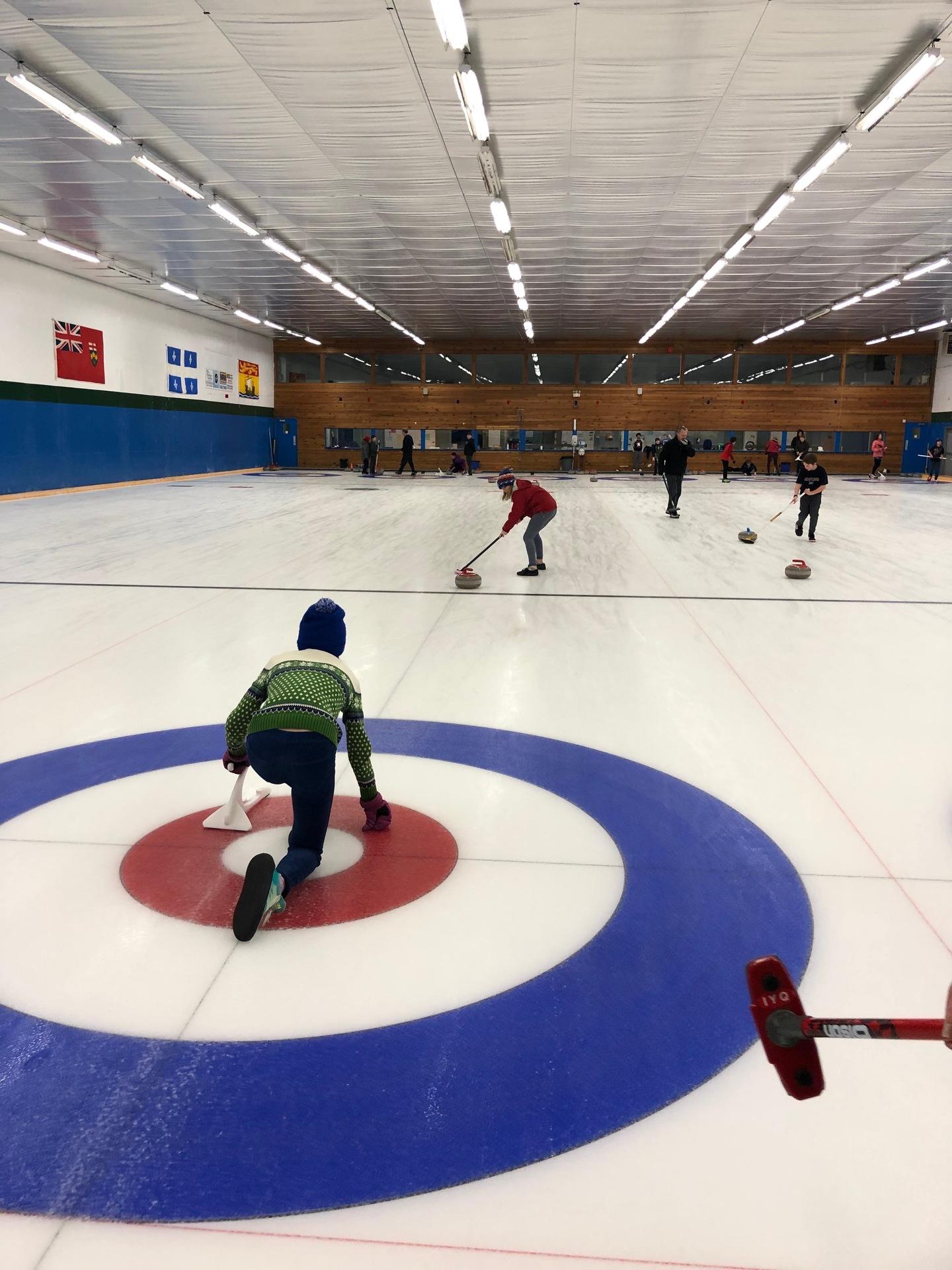 Grade 6/7 Curling