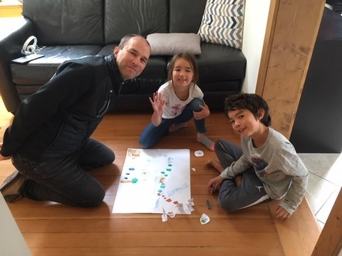Mika's homemade game