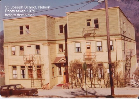 St. Joseph School in 1979