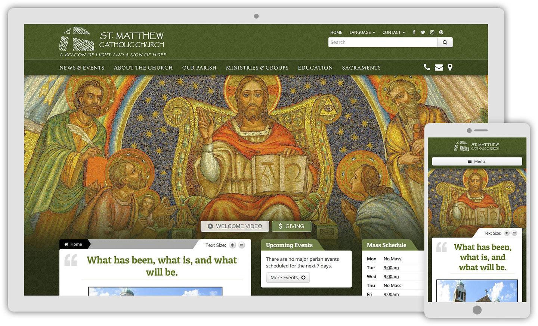 Florence: Catholic Web Design Theme