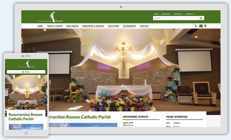 Genesis: Catholic Web Design Theme
